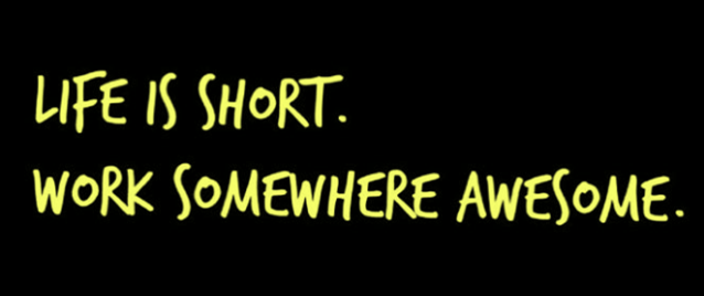 WorkSomewhereAwesome(BlackGreen)